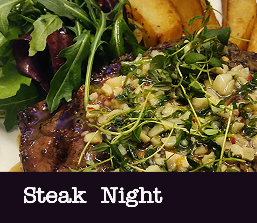Azzurro steak night